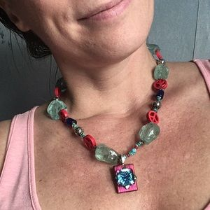OM Peace-a-licious blessed necklace